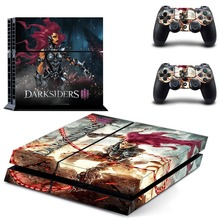 DARKSIDERS III Vinyl Sticker PS4 Skin Decal Sticker For PlayStation4 Console and 2 controller skins