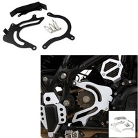 Motorcycle Front Sprocket Cover Guard Panel Left Engine Chain Cover Protection For BMW F800GS F700GS F650GS ADV F 800GS 700GS