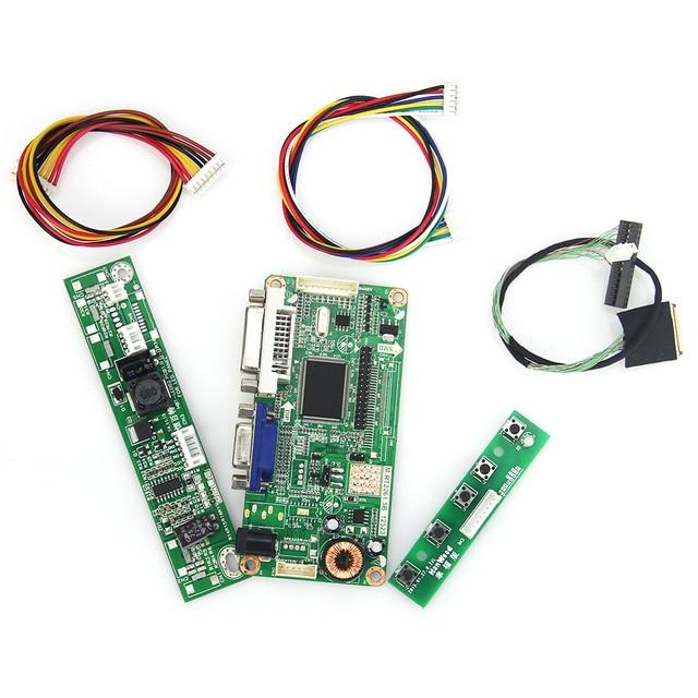 M. RT2261 M. RT2281 LCD/LED Placa de Driver de Controlador (VGA + DVI) Para M215HW02 V.0 LVDS Monitor de Reaproveitamento Laptop 1920x1080