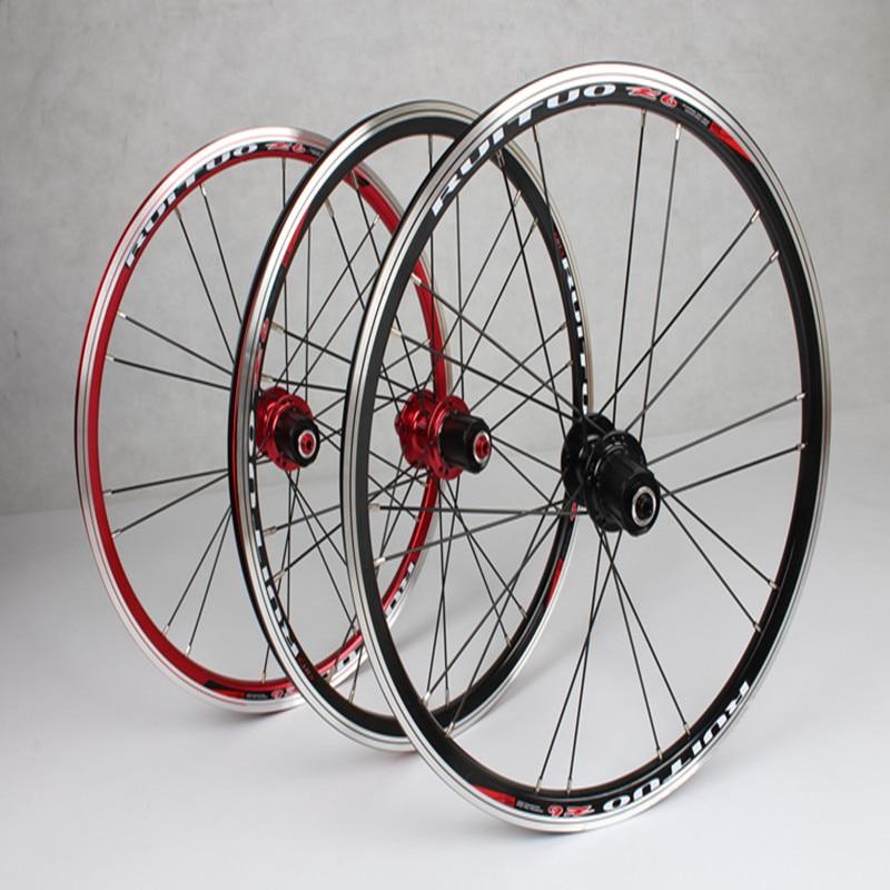 MEROCA 20 polegada RT * 1-3/8 V/Freio A Disco selado rolamento suave 451/406 roda rodas BXM dobrável aro de bicicleta Jantes