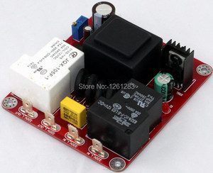 Image 1 - YJ finished amplifier  board New Version  Auto Class A delay soft start power protection board (110V or 220V)