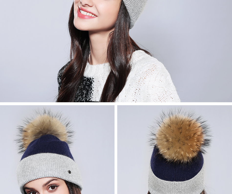Winter Hat For Women MZ744 (9)