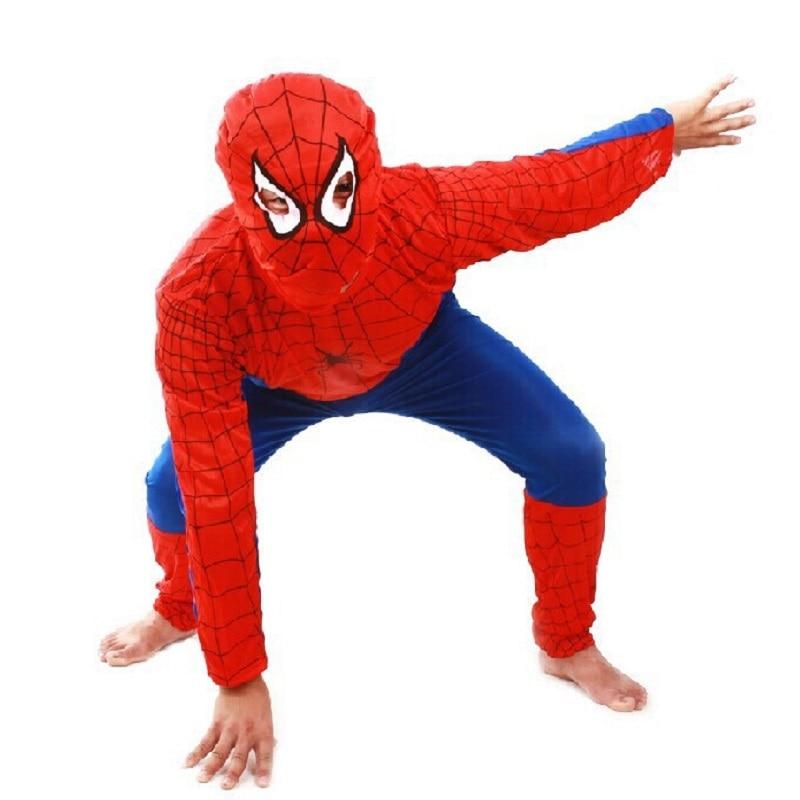 baba fiú ruhák Halloween jelmez gyerekeknek pókember párt film - Gyermekruházat