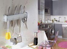 high quality Space aluminum simple kitchen shelf