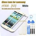 Original exterior blanca pantalla táctil superior cristal Samsung Galaxy S3 SIII i9300 poder i535 L710 i747 T999 8 herramientas + envío adhesivos