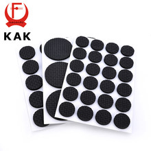 5Set KAK 1-24PCS Self Adhesive Furniture Leg Feet Rug Felt Pads Anti Slip Mat For Chair Table Protector Hardware Accessories(China)