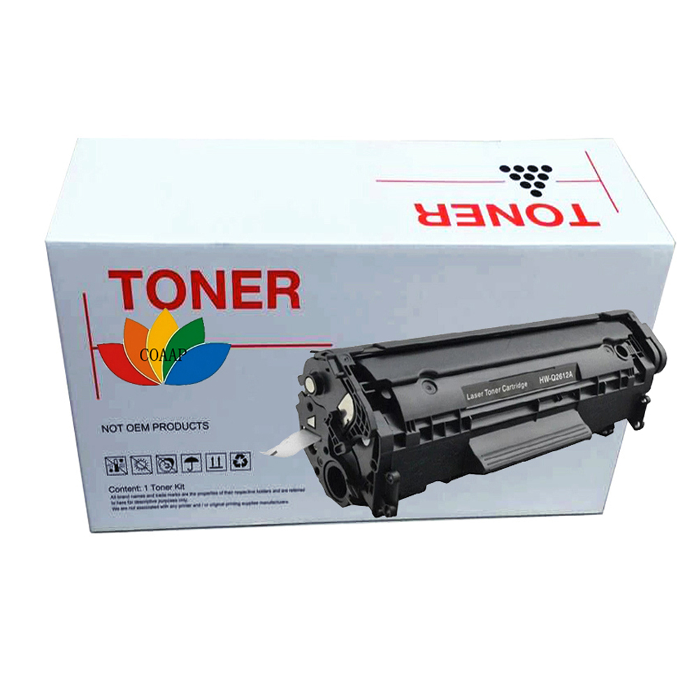 Compatible hp12A Toner Cartridge To Replace Q2612A For LaserJet 3055 <font><b>3052</b></font> 3050 1010 1012 1015 1018 1020 3010 M1319f image