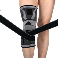 NoEnName Null Basketball Slip Resistant Knee Protector Pads Men Breathable Sports Climbing Knee Support Brace Tape