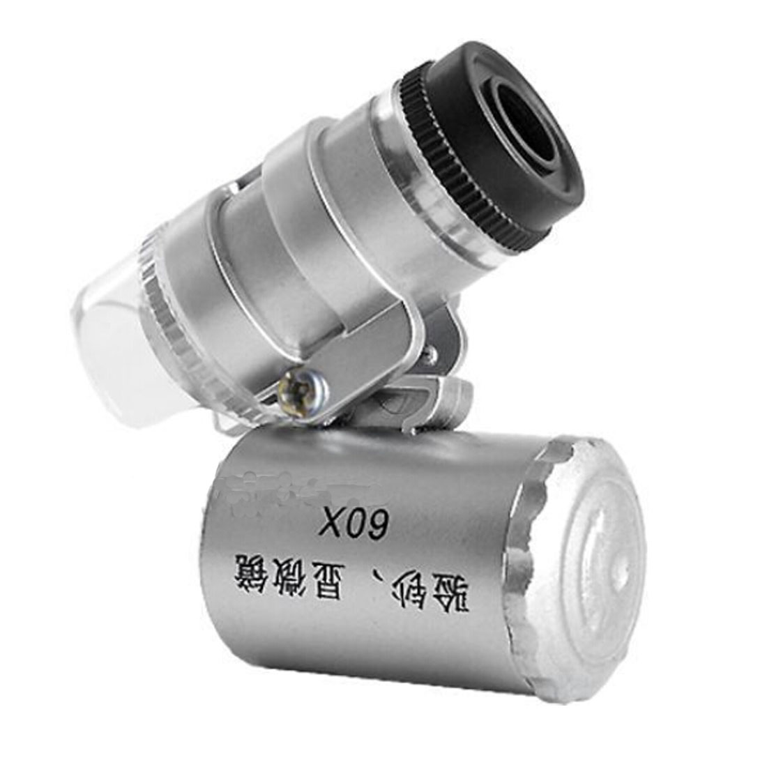 60X Mini Microscope Jeweler Loupe Lens Illuminated Magnifier Glass 3 LED With UV Light 60X Mini Microscope Jeweler Loupe Lens Illuminated Magnifier Glass 3 LED With UV Light