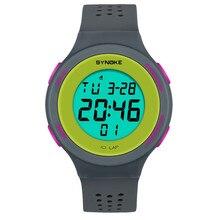 SYNOKE Multi-Function 50M Waterproof Watch LED Digital Doubl