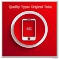 10 pçs/lote tomada Original de telefone A tela de qualidade para 6 6 G Display LCD preto / branco
