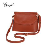 YBYT Brand 2018 New Satchels Casual Simple Handbag Women Shoulder Bag Female Solid Shopping Pack Ladies