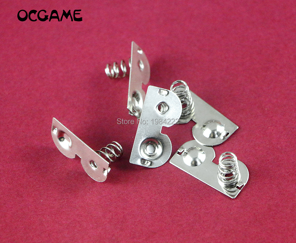 OCGAME 20pcs/lot Battery Terminals Contact Spring Battery Spring Replacement for GameBoy Pocket for GBP Game Console image