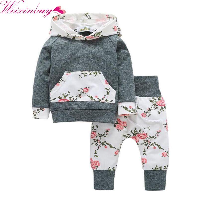 Baby meisje kleding pasgeboren 2017 herfst kinderen Baby jongens - Babykleding