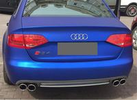 ABS 4 Outlet PP Rear Bumper Diffuser with Exhaust Tips For Audi A4 S4 B8 2009 2010 2011 2012 2STYLE