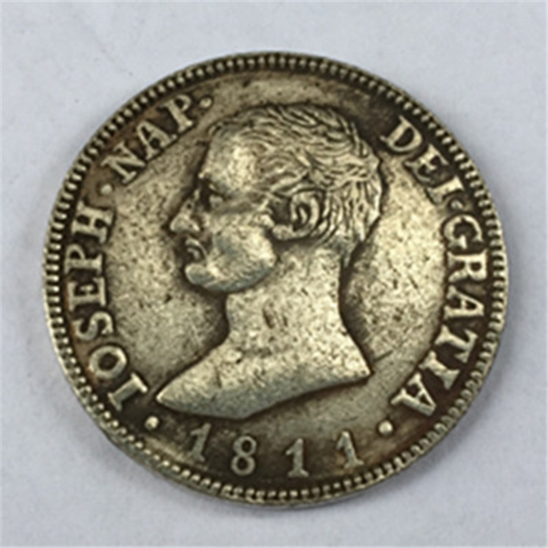 Spain 1811 RS 4 Reales - Jose I Bonaparte Silver Coin