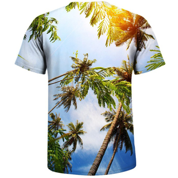 Palm Trees Men's All Over Printed T-shirt  1