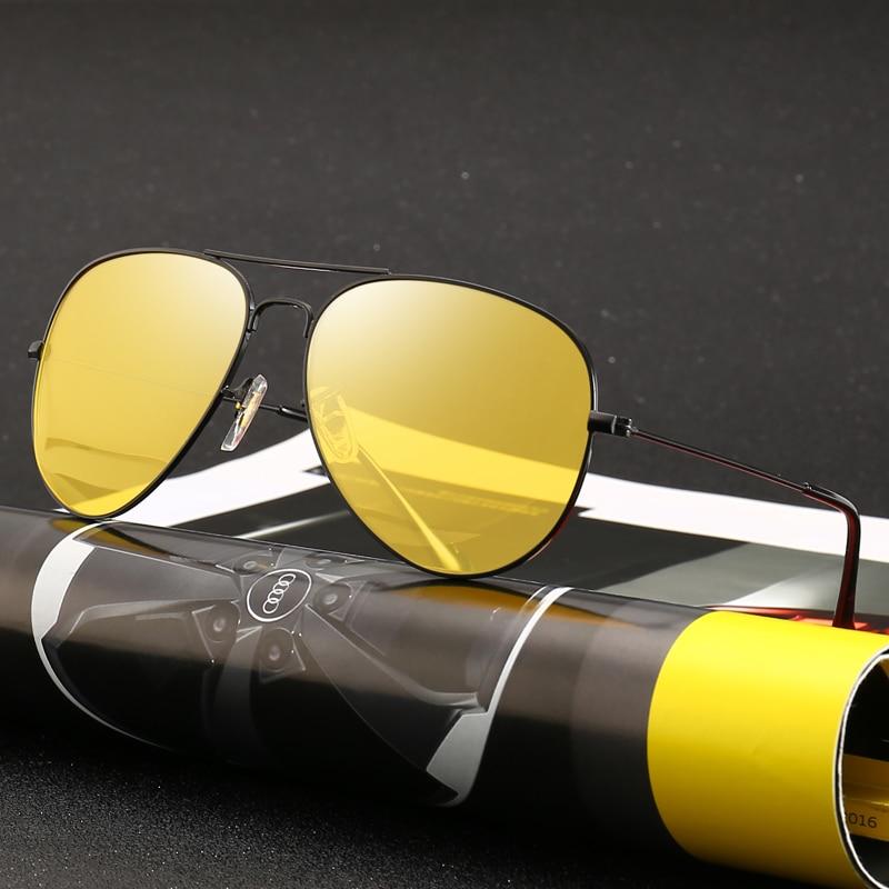 Glasses Driver-Goggles Gears Night-Vision Anti-Glare Polarized Car Men Uv-Protection
