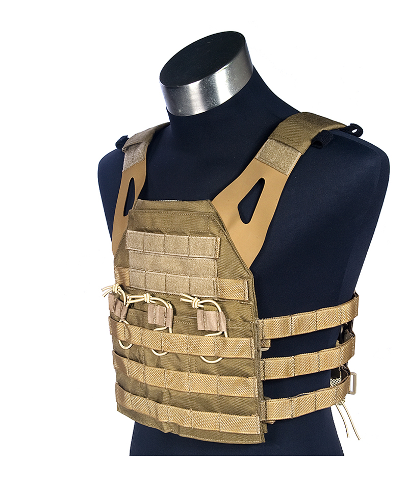 Coyote Brown 1000D Mil Spec Military JPC Style Plate Carrier Combat Molle Tactical Vest Army Military Combat Vests Gear Carrier mil spec military lt6094 coyote brown cb combat molle tactical vest army military combat vests lbt6094 style gear vest carrier