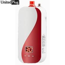Conversión de frecuencia UnitedPlug Instantánea tipo de calefacción Po cocina calentador de agua a temperatura constante 5500 W alta potencia del calentador XC01