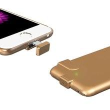 1500 мАч/2000 мАч внешнего резервного Запасные Аккумуляторы для телефонов ультра тонкий Батарея зарядки чехол для iPhone 6 6 S 6 S плюс 7 7 Plus Батарея случае
