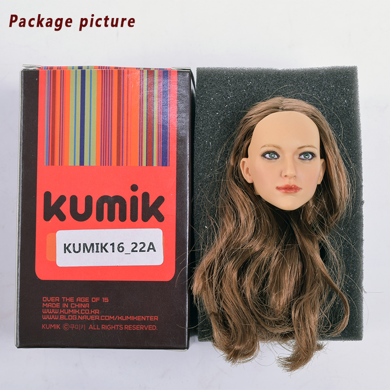 1/6 Proportional Accessories Womens headdress KUMIK 16-22A Female Action Modeling Model 12 Action Figure Accessories