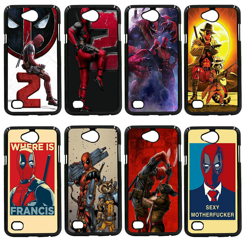 Hard PC Cover Marvel Deadpool Cell Phone Case For LG L Prime G2 G4 G5 G6 G7 K4 K8 K10 V20 V30 Nexus 5 6 5X Pixel Shell