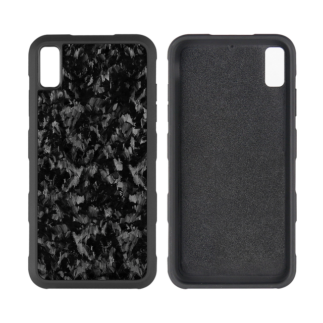 Forged Carbon fiber Case for iPhone XS XS MAX XR