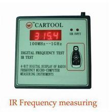 Envío Libre Original A + Quality Wireless Control Remoto IR Transmisor Medidor de Frecuencia Contador Ondámetro Tester 250 MHz-1 GHz