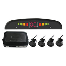 Kit de Sensor de Aparcamiento del coche Auto LED Display 4 Sensores para todos los Coches 22mm Asistencia Inversa Monitor de Reserva Del Radar Del Sistema de Zumbido sonido
