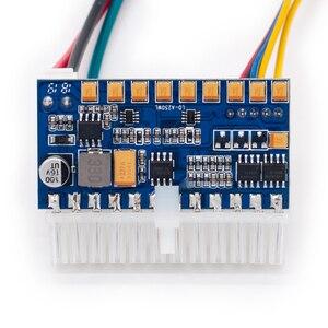 Image 5 - RGEEK 250W 24pin DC ATX NETZTEIL 12V DC Eingang 250W Spitzen Ausgang Schalter DC DC ATX Pico PSU MINI ITX PC Netzteil Für Computer