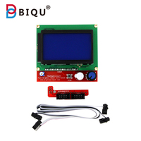 BIQU 3D Printer12864 LCD Ramps Smart Parts RAMPS 1 4 Controller Control Panel LCD 12864 Display