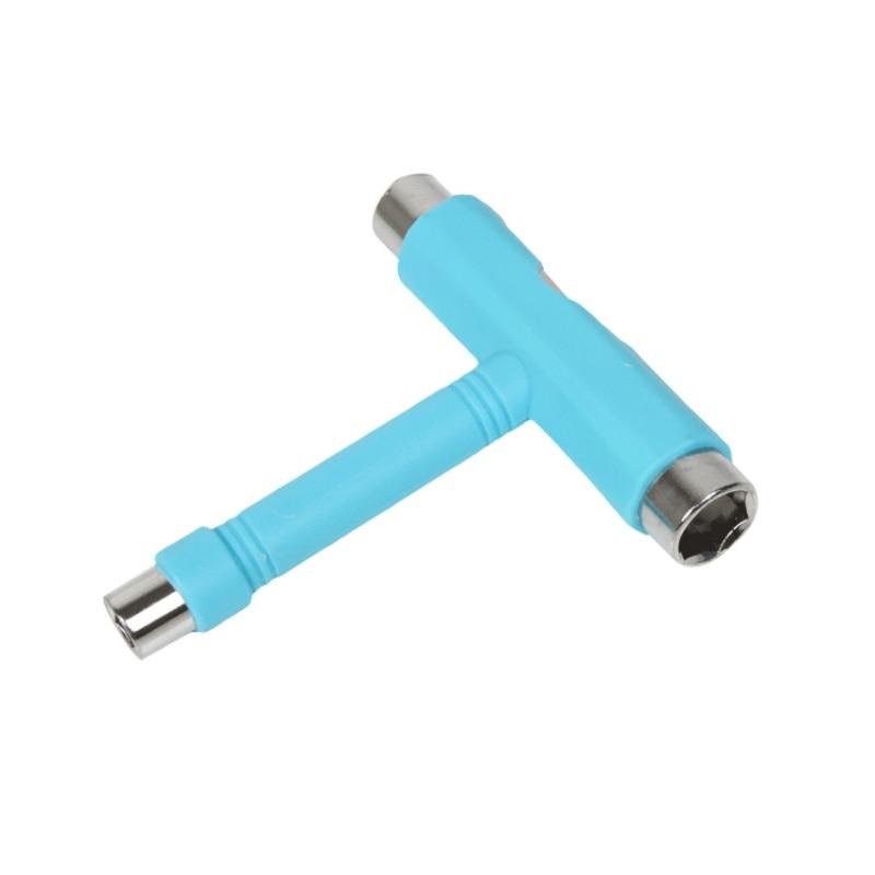 T-type Skateboard Tool Screwdriver Socket Portable Lightweight Multifunction Skate T-Tool Mini Kick Scooter Tool