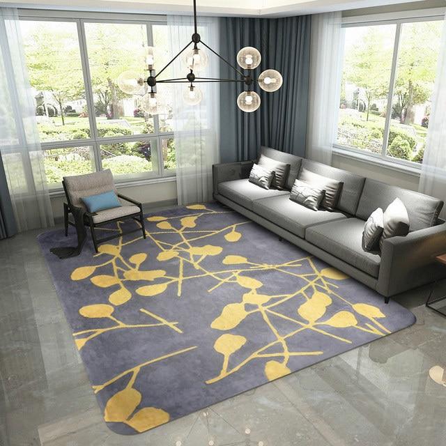 Modern Crystal Velvet Carpets For Living Room Home Decor Bedroom