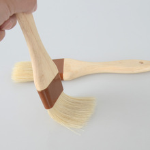 Wood Handle Natural Bristles Coffee Grinder Maker Machine Cleaning Brush Coffee Powder Brushes Kitchen Tools Home Cleaning Tools coffee machine cleaning brush plastic handle nylon bristles filter net cleaner coffee maker brushes household appliance part