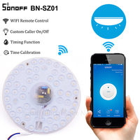 Sonoff WiFi Ceiling Light Lamp 18W Cold White 6500K Wireless Smart Home APP Remote Control LED