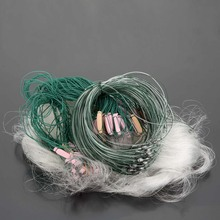 25m 3 Layers Fishing Net Monofilament Fishing Gill Network With Float Outdoor Sport Fish Gillnet Trap Fishing Gear Rede De Pesca