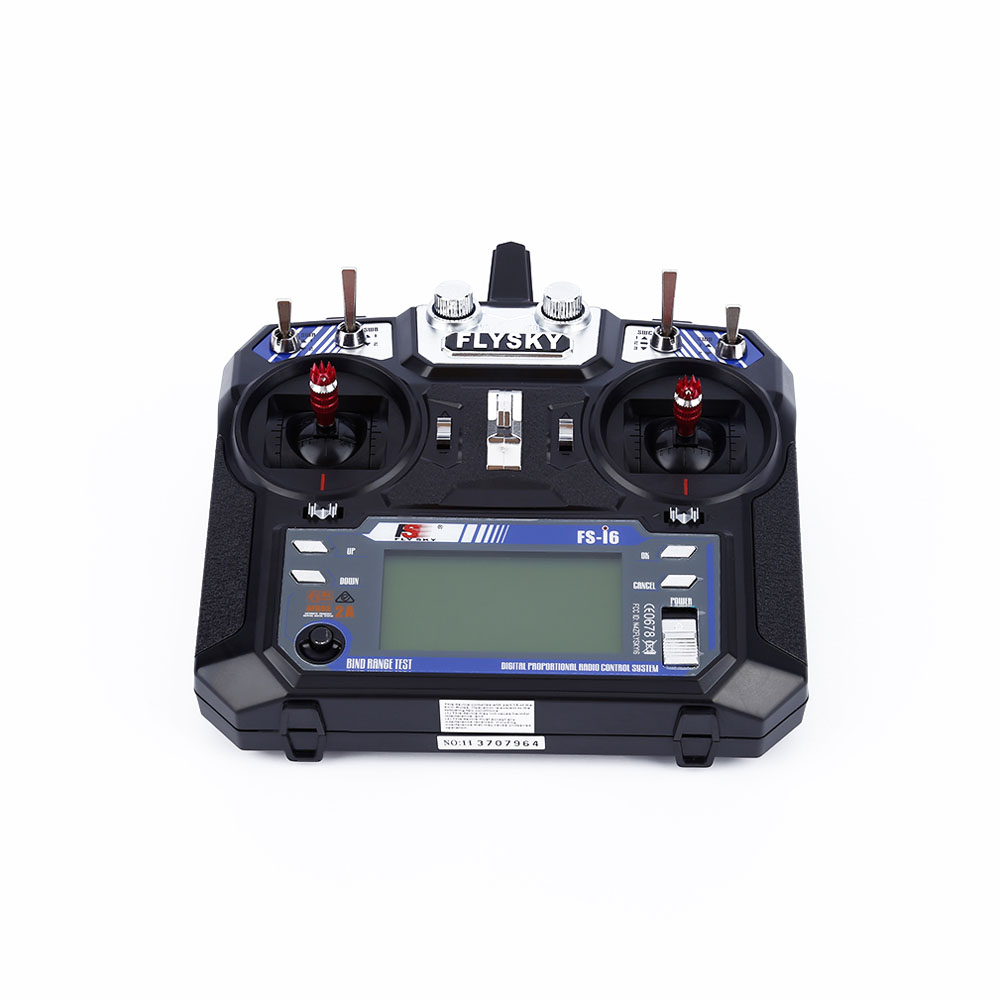 FlySky FS-i6 2.4G 6CH AFHDS RC Transmitter With FS-iA6 Receiver for Airplane Heli UAV Multicopter Drone FJ88