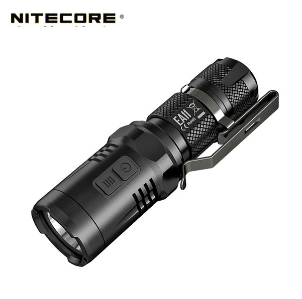 NITECORE EA11 open projector flashlight is compatible with all AA portable flashlight Not Battery