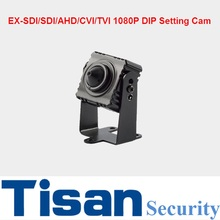 New 1080P EX-SDI SDI AHD CVI TVI Anlaog 6-In-1 3.7mm lens 1080P Mini Security CCTV Camera