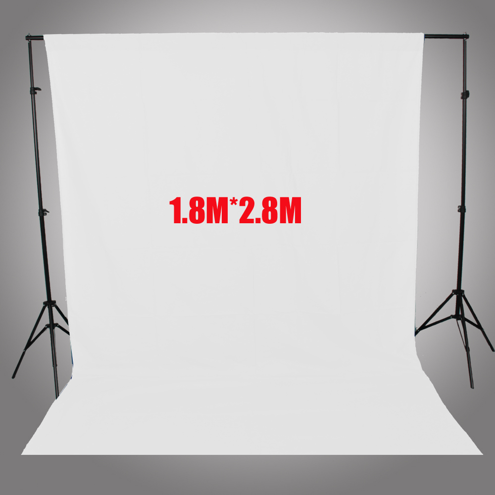 ASHANKS Photography Backdrops White Screen 1.8*2.8m Photo Background for Photo Studio 6FT*9FT Backdrop for Camera Fotografica ashanks pro photography studio photo backdrops frame background support system 2m x 2 4m stands for photo shoot carry bag