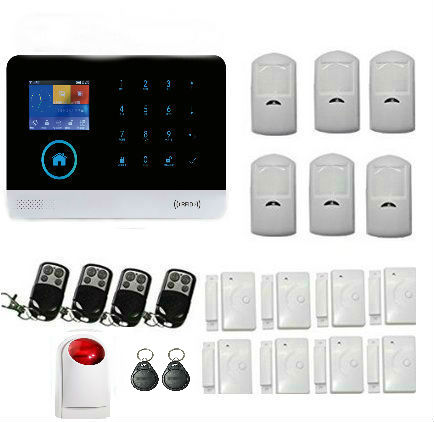 Yobang Security wifi GSM Alarm System Voice Prompt Wireless Infrared Sensor Metal Remote Control Kit SIM SMS Alarm yobang security rfid gsm gprs alarm systems outdoor solar siren wifi sms wireless alarme kits metal remote control motion alarm