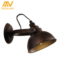 OFT Retro Industrial Corridor Balcony Hanging Wind Creative Personality Antique Design Light Shade Wall Sconce Lighting
