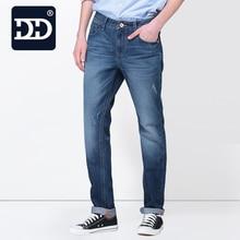 Dingdi Brand  Factory Jeans Men 100% Cotton Soft Casual Straight  Men's Jeans Fashion  Mens Jeans For Men  Casual Warm Pants