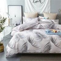 forest leaves bedding set unicorn duvet cover set bed linen king size bedding set Pillowcases duvet set home textile 2019 3pc