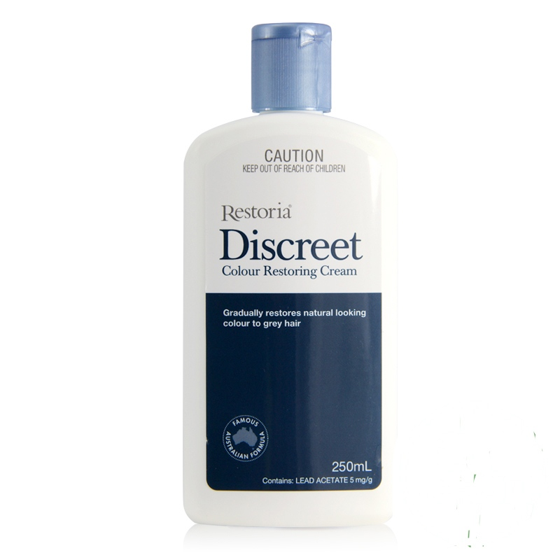 100% Australia made Restoria Discreet Colour Restoring Cream/ Lotion, Hair Care250ml, Reduce Grey Hair - Suitable for Men &Women managing projects made simple