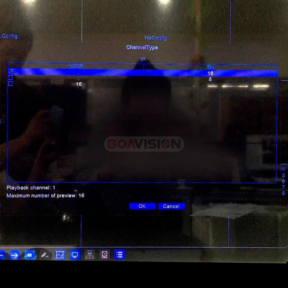 8CH 16CH 5MP CCTV NVR H.265/H.264 détection de mouvement enregistreur vidéo réseau CCTV FTP ONVIF pour système de sécurité caméra IP - 4