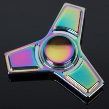 5 красочные EDC Руки Spinner Игрушка Непоседа Spinner Цинковый сплав Металлов пальцев гироскопа Для Аутизма СДВГ Стресс Сбросьте Игрушки Долгое Время скорость