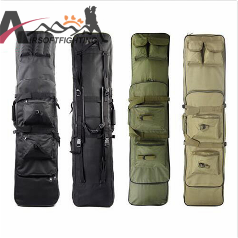 ФОТО Tactical Military 120CM Rifle Case Gun Bag with Shoulder Strap Airsoft Hunting Paintball Combat Backpack