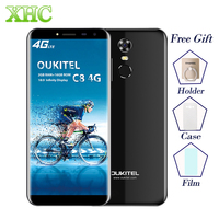 OUKITEL C8 2GB 16GB Smartphone Fingerprint ID 5 5 Inch Android 7 0 MTK6737 Quad Core